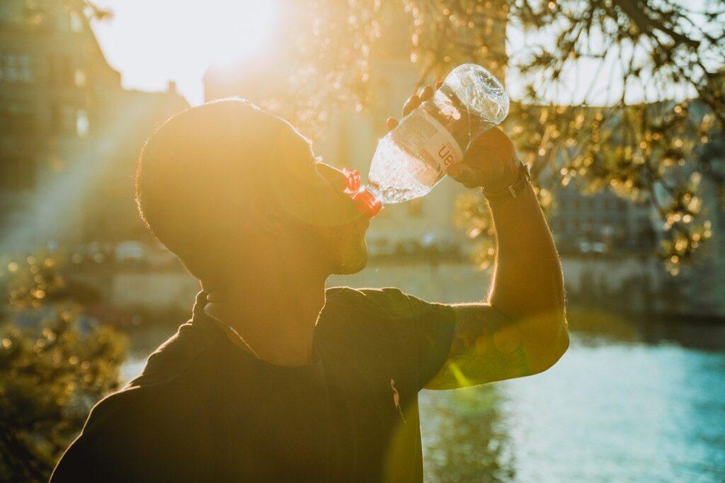 benefits of drinking water, liquid, water bottle