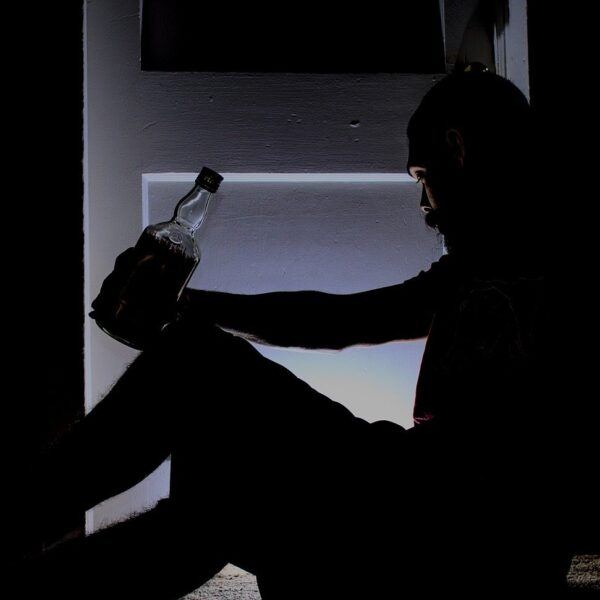 Drinking Man, how does alcohol affects mental health